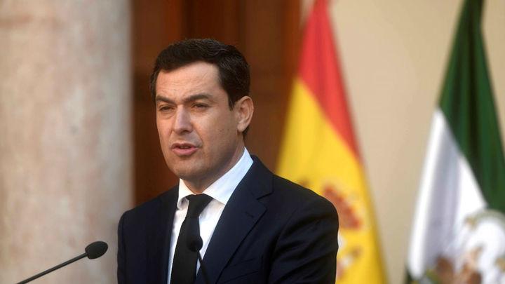 Juanma Moreno, presidente de Andalucía, da positivo por coronavirus