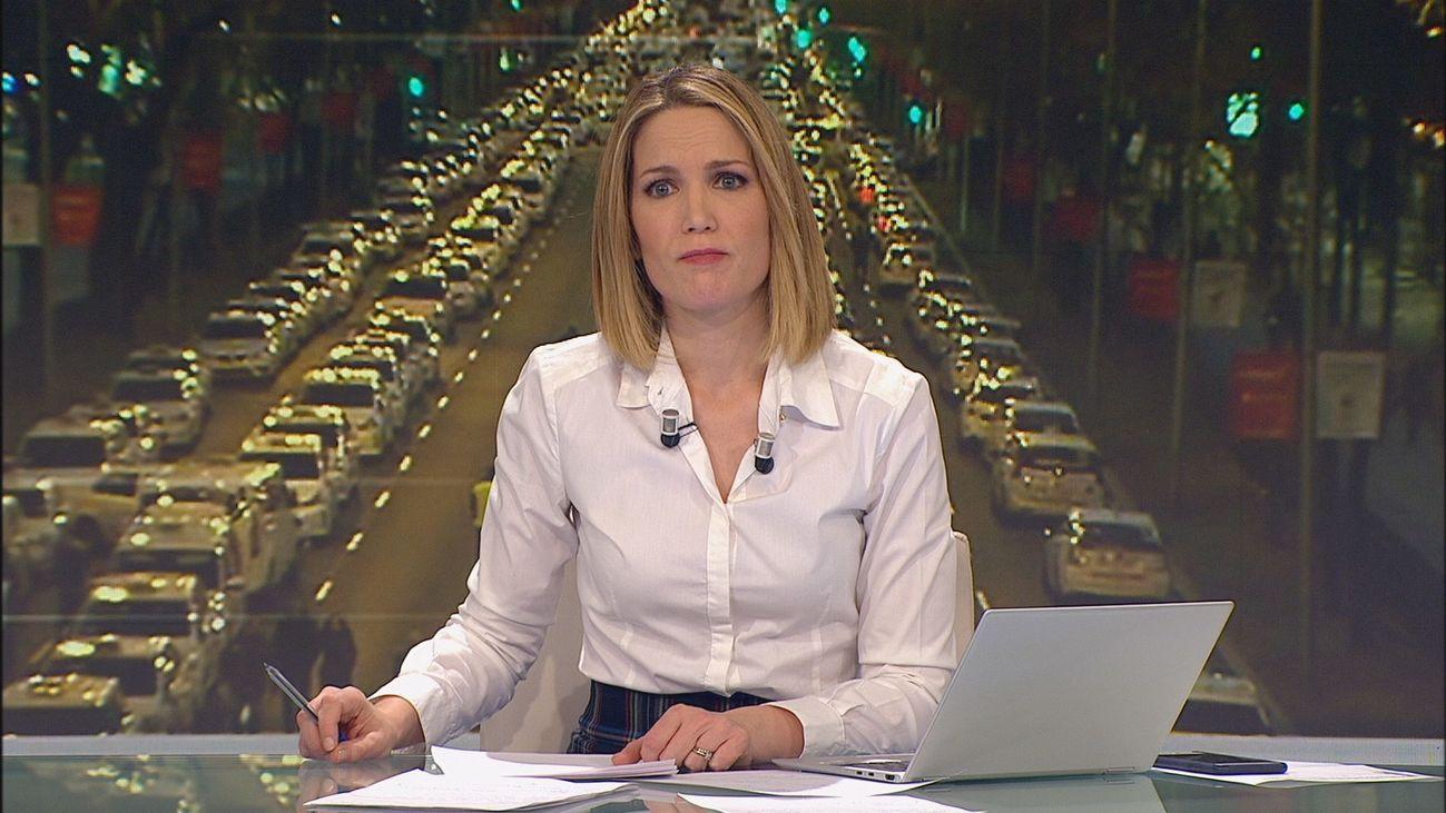Especial Informativo: huelga de taxis en Madrid