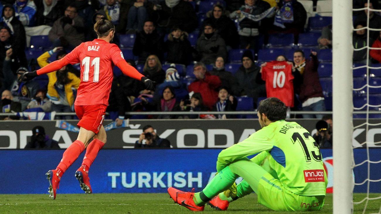Gol de Bale al Espanyol (1-4)