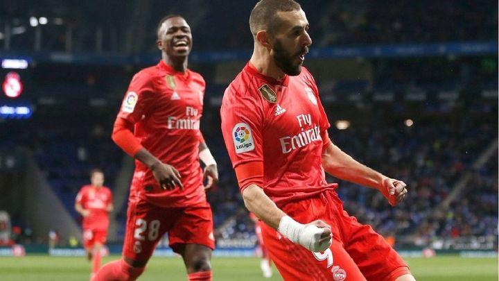 Gol de Benzema al Espanyol (0-1)