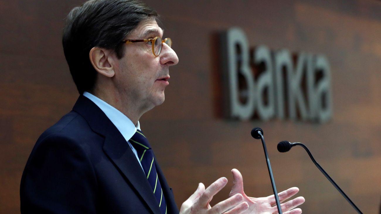 Bankia logra un beneficio de 703 millones en 2018, un 39,2% más