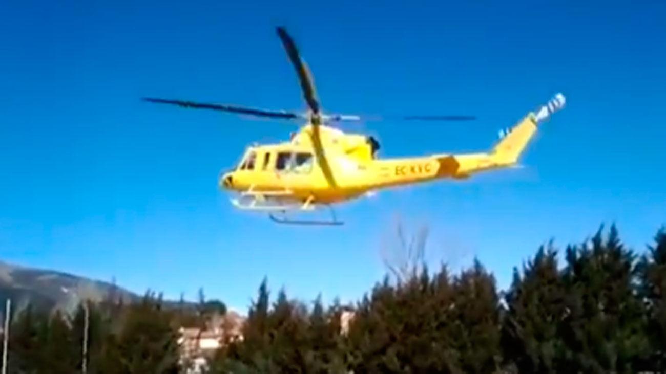 Un trabajador de 50 años herido grave en San Lorenzo del El Escorial