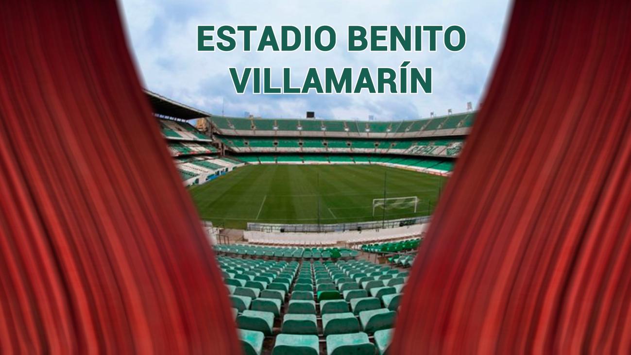 El Benito Villamarín, sede de la final de la Copa
