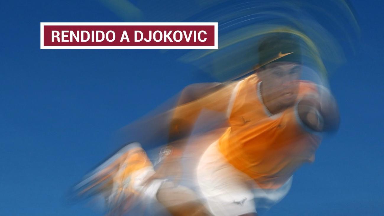 Djokovic no da opción a un desconocido Nadal