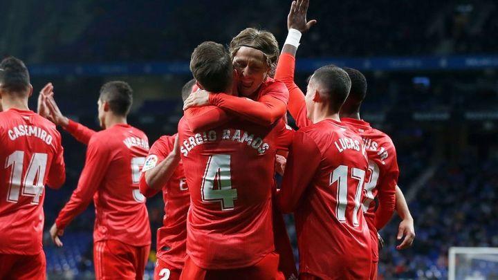2-4. El Real Madrid condena al Espanyol