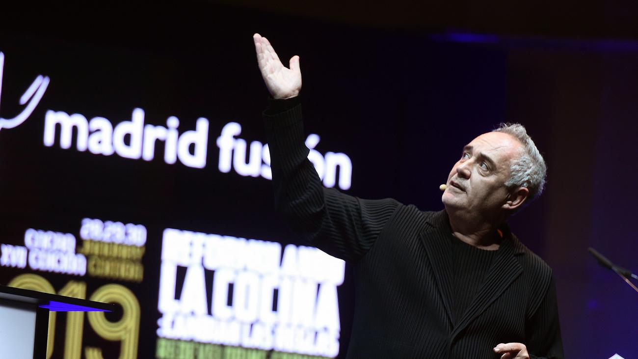 Ferran Adrià: La próxima revolución gastronómica será la del conocimiento