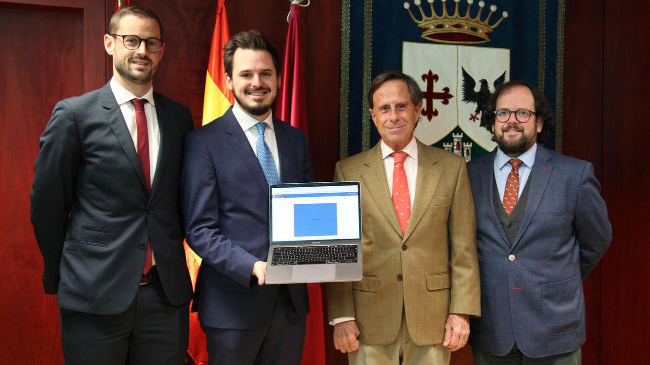 Presentación de la digitalización del  centro de objetos perdidos de Alcobendas