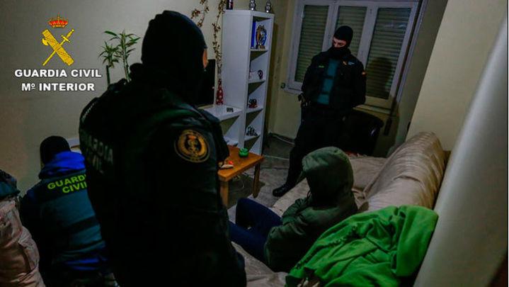 La Guardia Civil detiene en Zaragoza a un marroquí que difundía propaganda yihadista