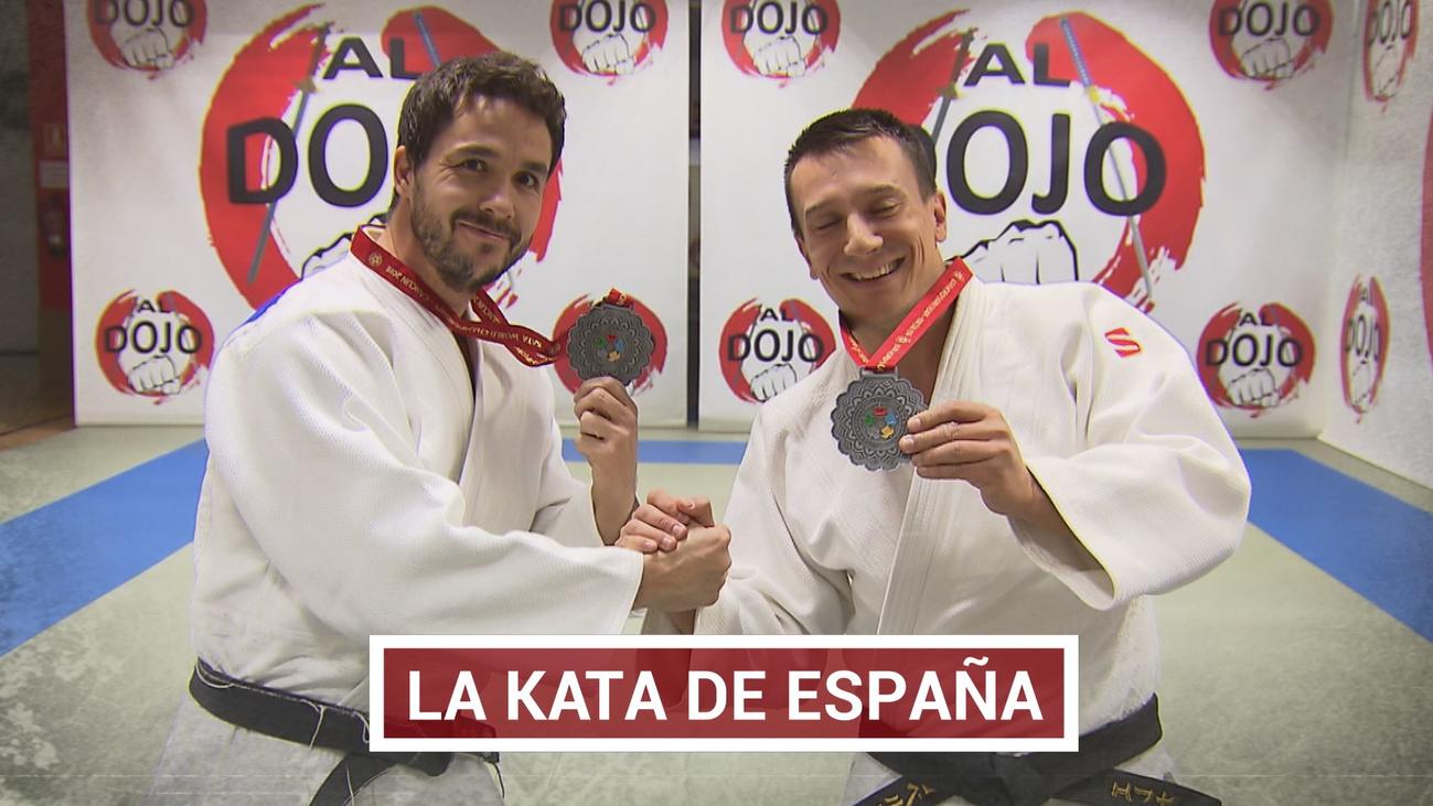 Goicoechandía y Villar, dos campeones de judo de Fuenlabrada