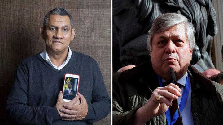 """Los padres de Juan Guaidó y Leopoldo López se desean """"fuerza y fe"""" en Onda Madrid"""