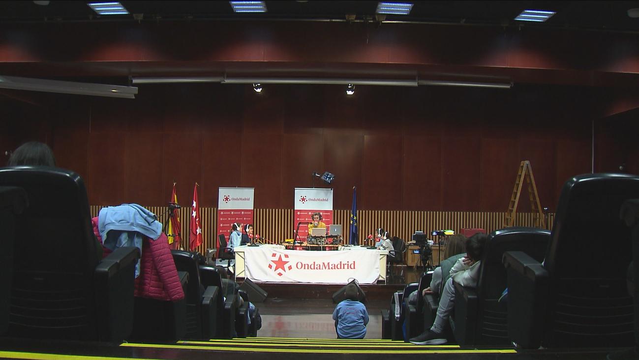 'La radio del cole': Onda Madrid entrega sus micrófonos a escolares de primaria