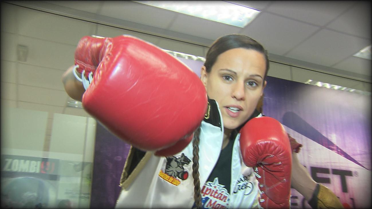 Joana Pastrana, campeona a fuerza de sacrificio