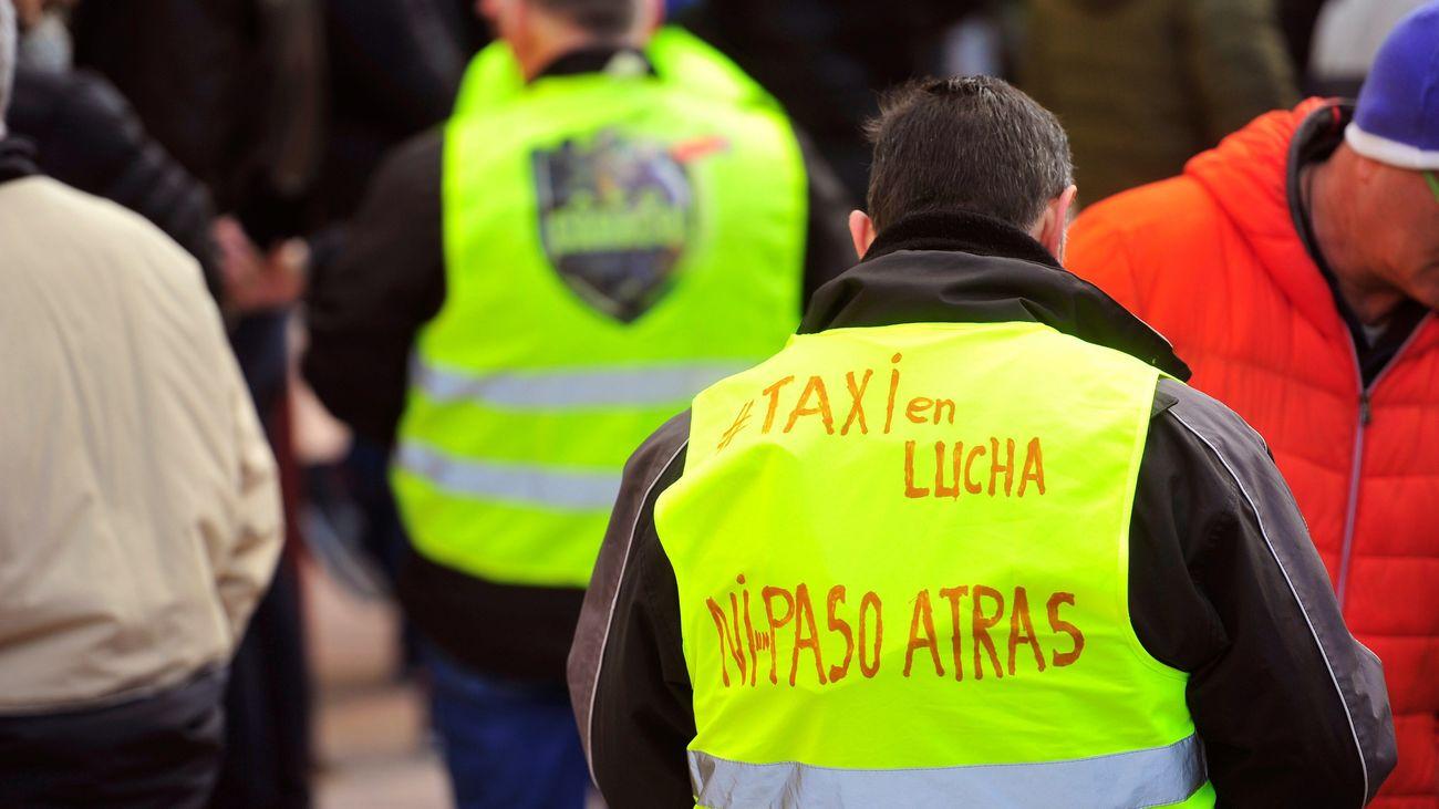 Minuto a minuto de la undécima jornada de huelga de los taxistas