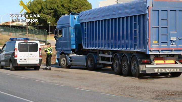 Detenido en Azuqueca un camionero que multiplicaba por siete la tasa de alcohol