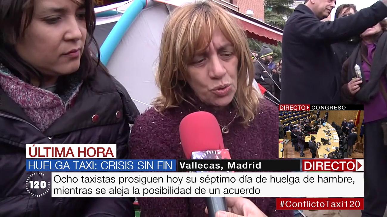 """""""Vamos a continuar en huelga de hambre hasta que se ponga solución"""""""