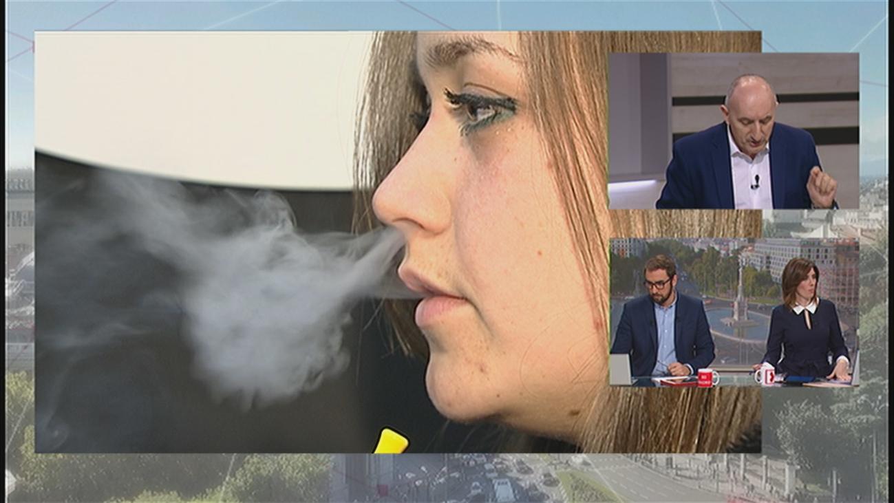 Los cigarrillos electrónicos, tan nocivos como el tabaco