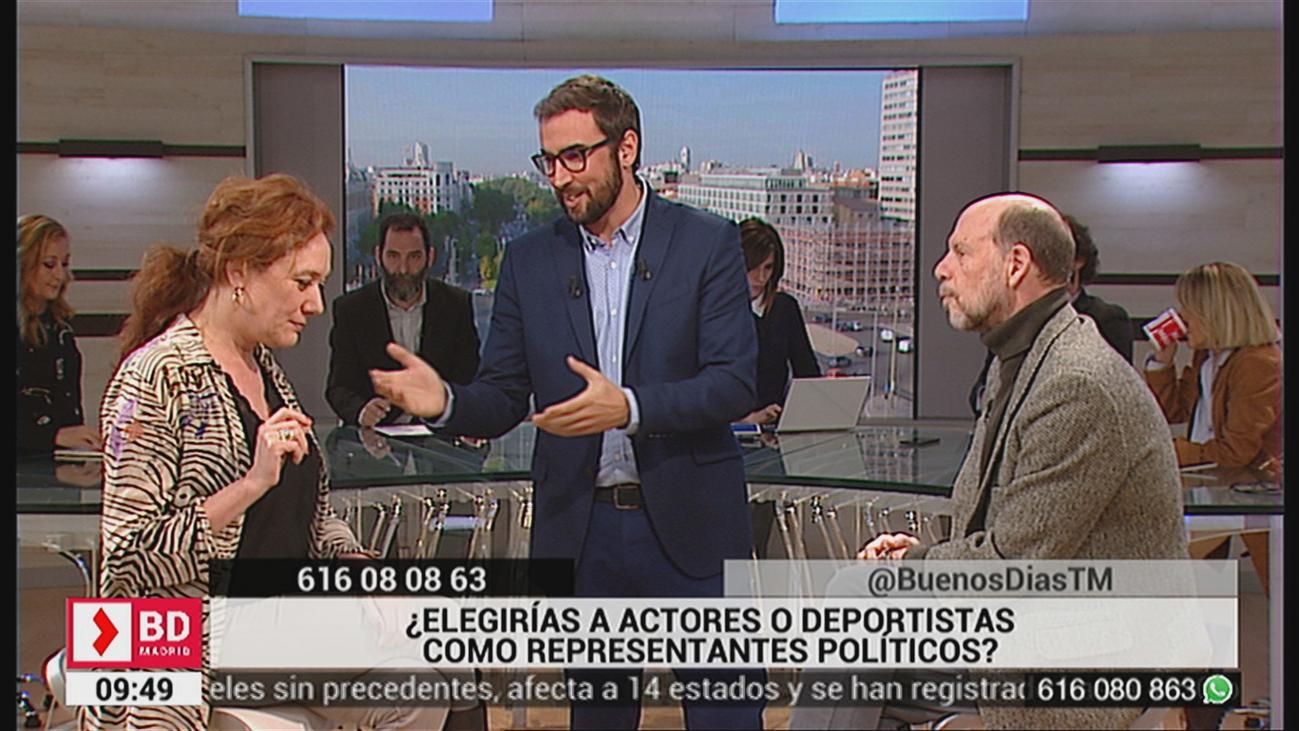 ¿Elegirías a actores o deportistas como representantes políticos?