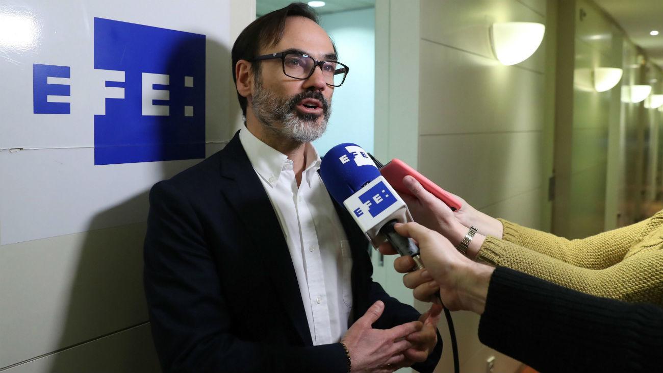 Fernando Garea, presidente de la agencia EFE