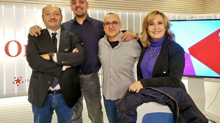Tertulia de actualidad con los periodistas Ferran Boiza y Carlos Hidalgo