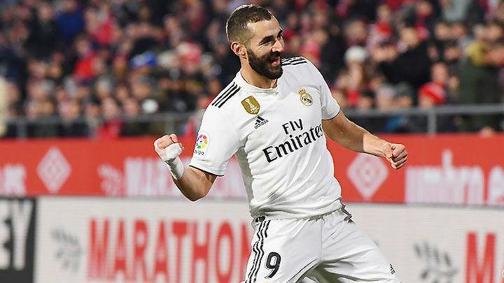 Gol de Benzema al Girona ( 0-1)
