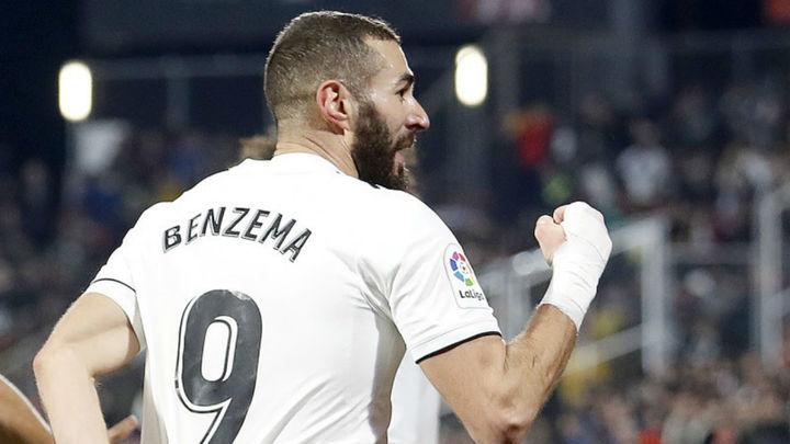 Gol de Benzema al Girona (0-2)