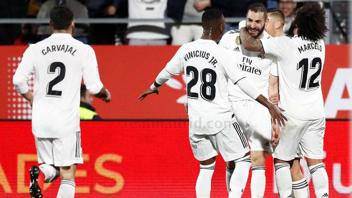 3-1. Benzema lleva al Madrid a semifinales de Copa