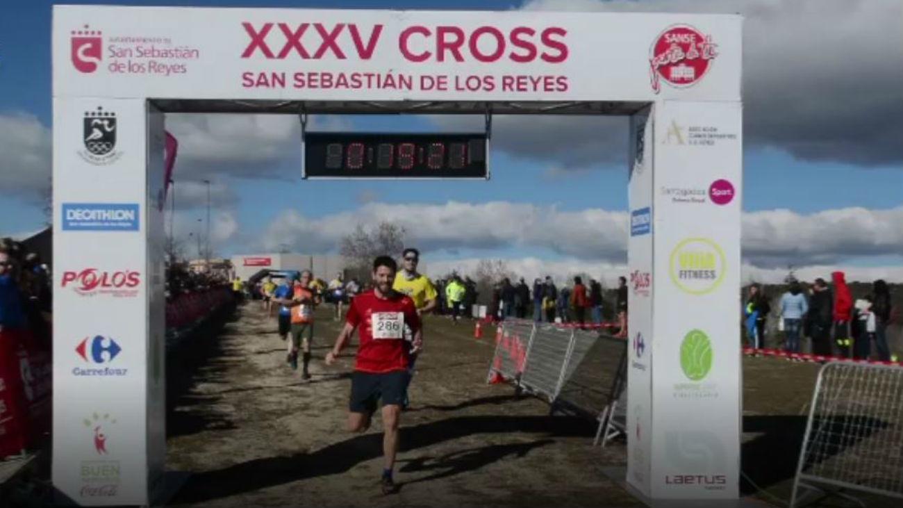 Sanse reúne a atletas de toda España en su 35º cross