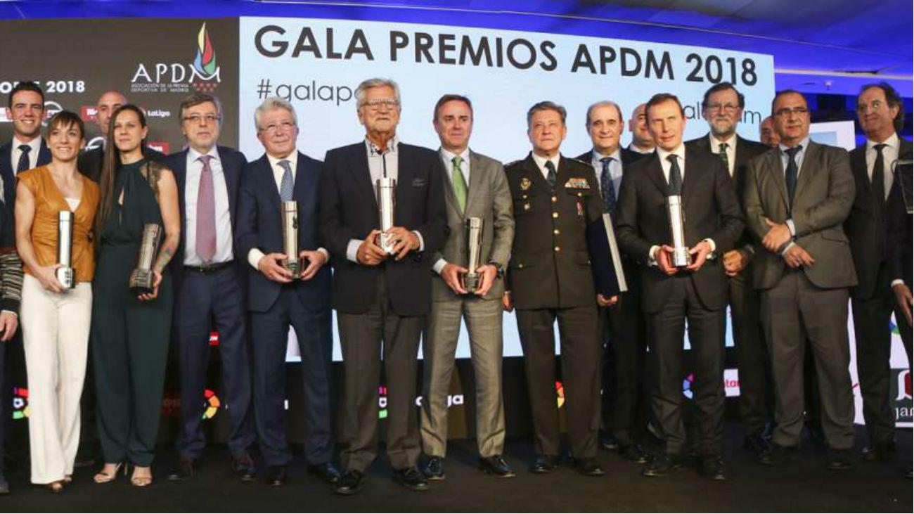 La prensa deportiva madrileña entrega sus premios anuales