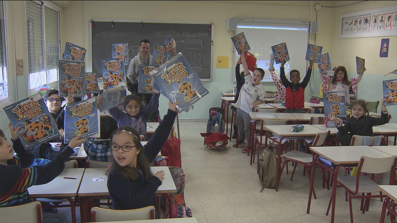 Unos 150.000 niños se beneficiarán del préstamo de libros de texto de la Comunidad