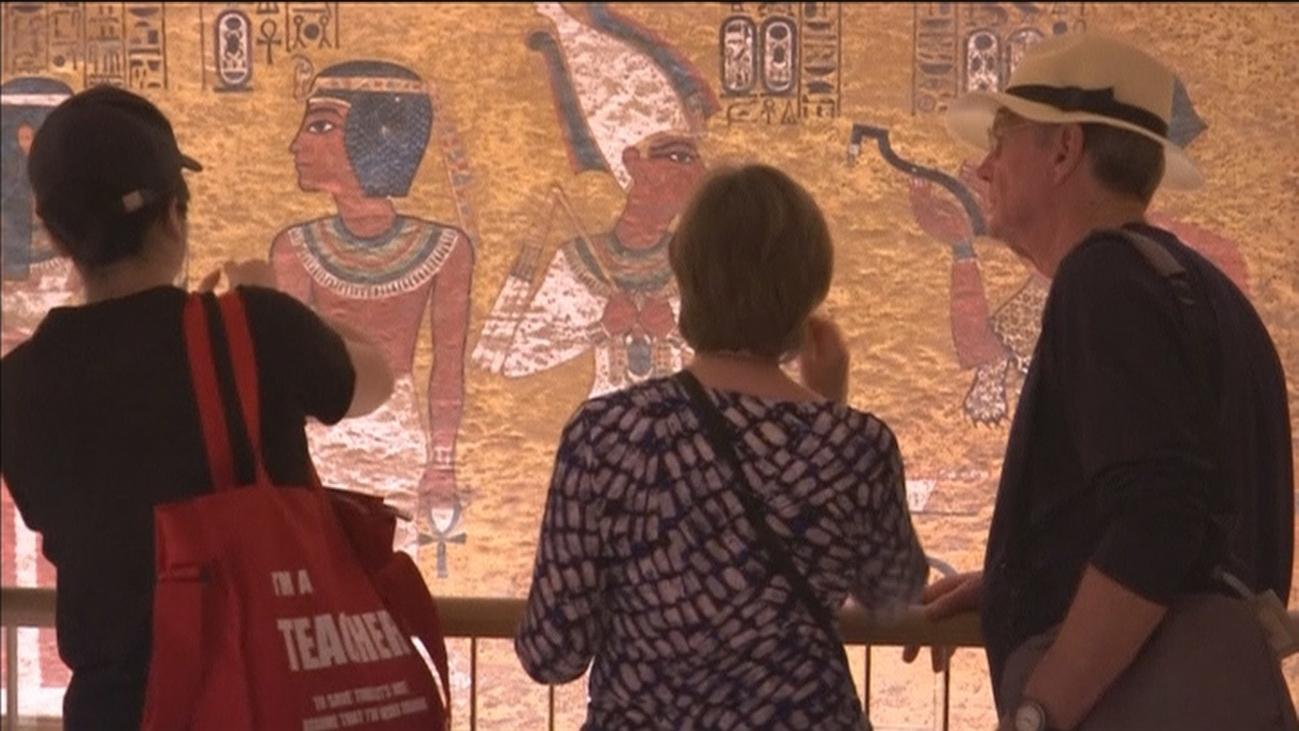 La tumba de Tutankamón revive tras 10 años de restauración