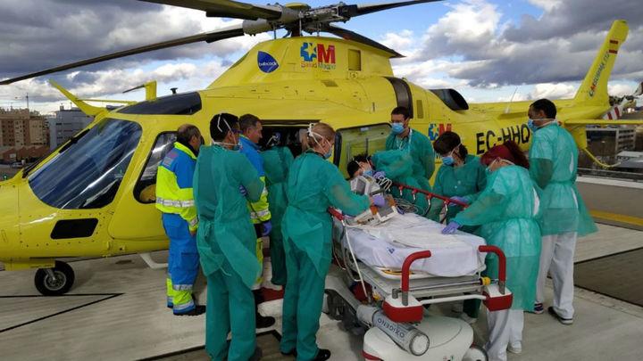 Muy grave un hombre de 38 años tras caerse de un quad en Villaconejos