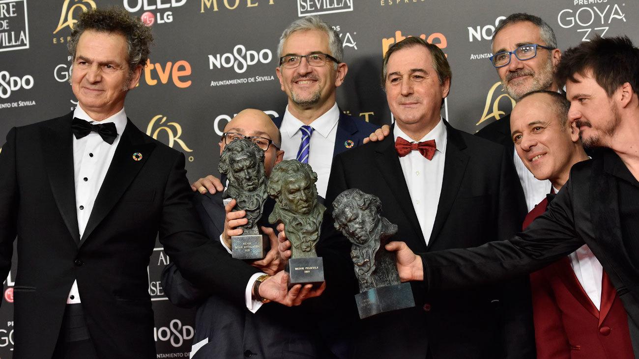 """""""Campeones"""" se lleva el  Goya a la mejor película"""