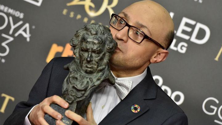 Los Goya se llenan de lágrimas con el emotivo discurso de Jesús Vidal