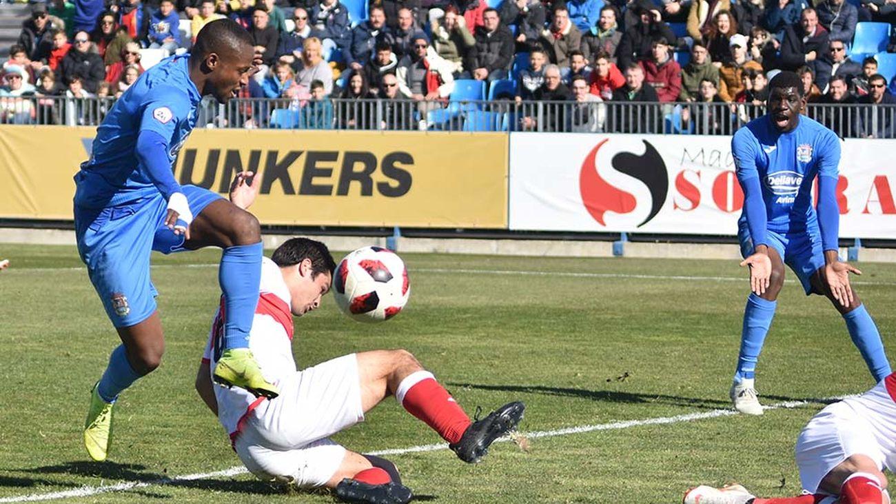 1-1. El Sanse saca un empate al Fuenlabrada