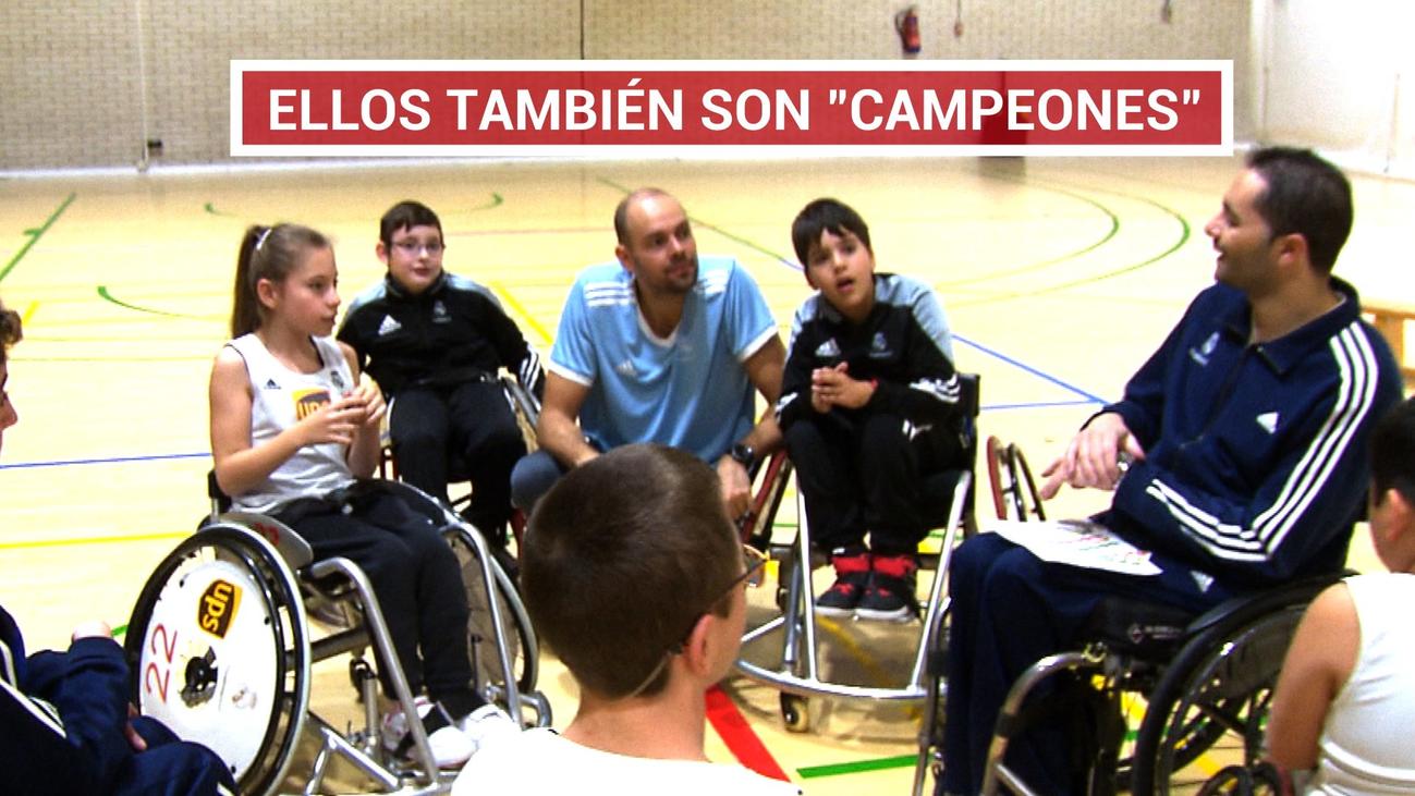 La Fundación Real Madrid promueve el deporte Inclusivo