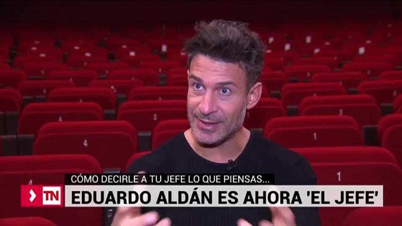 'El jefe', la nueva y peculiar función de Eduardo Aldán