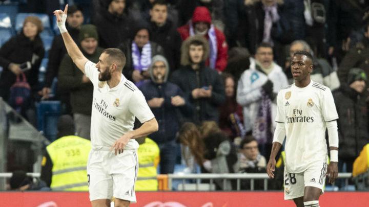3-0. Benzema y Vinicius enganchan a la Liga al Real Madrid