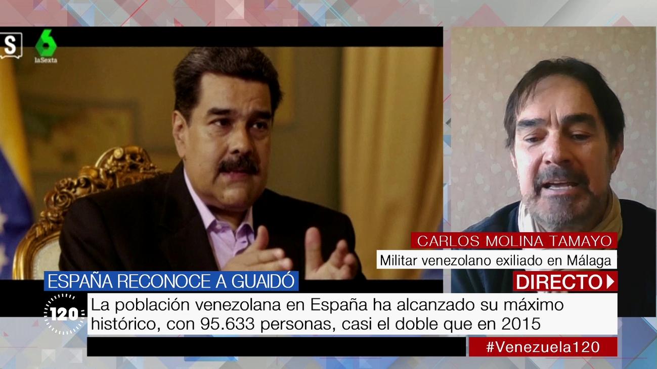 """Venezolano exiliado en Málaga: """"Venezuela está controlada por una camarilla de delincuentes"""""""