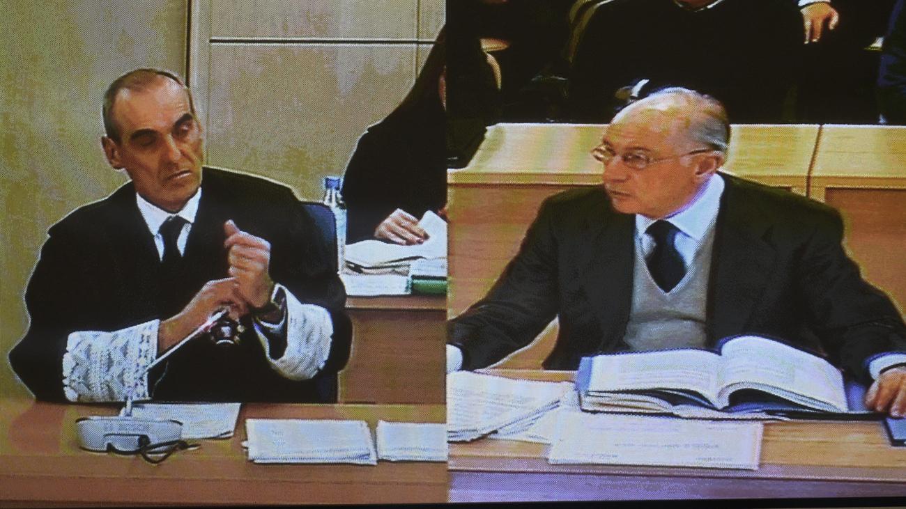 Rato carga contra De Guindos y Francisco González por su salida de Bankia
