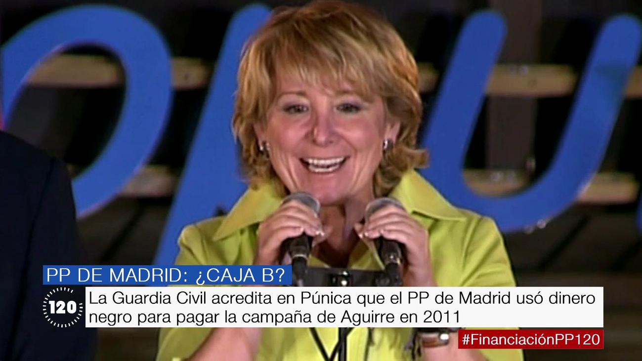 El PP gastó en la campaña de Aguirre de 2011 el doble de lo que acreditó, según la UCO