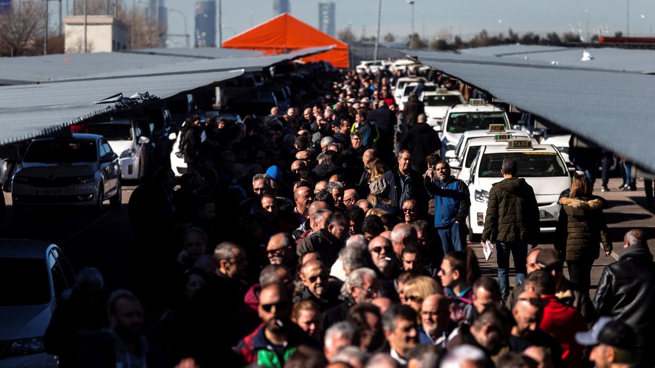 Día decisivo para el devenir de la huelga de los taxistas