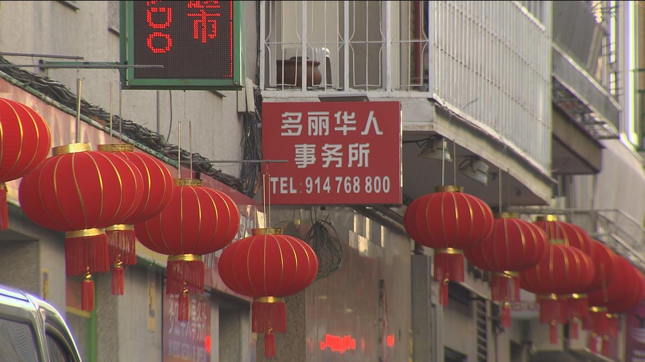 La comunidad china en Madrid celebra el comienzo del año del cerdo