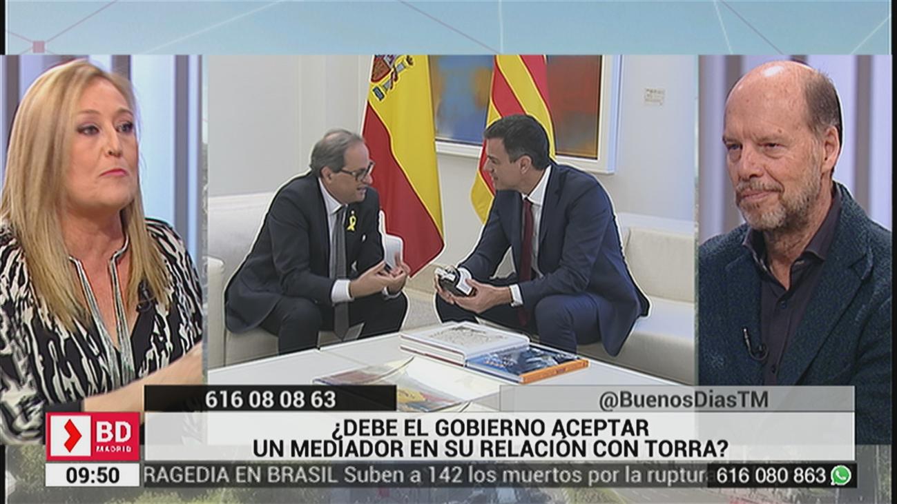 ¿Debe el Gobierno de Pedro Sánchez aceptar un mediador en su relación con Torra?