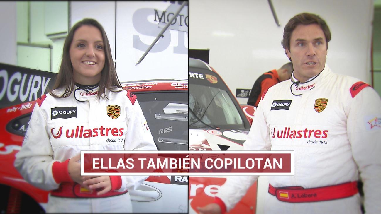 Álvaro y Alba, unidos por las carreras
