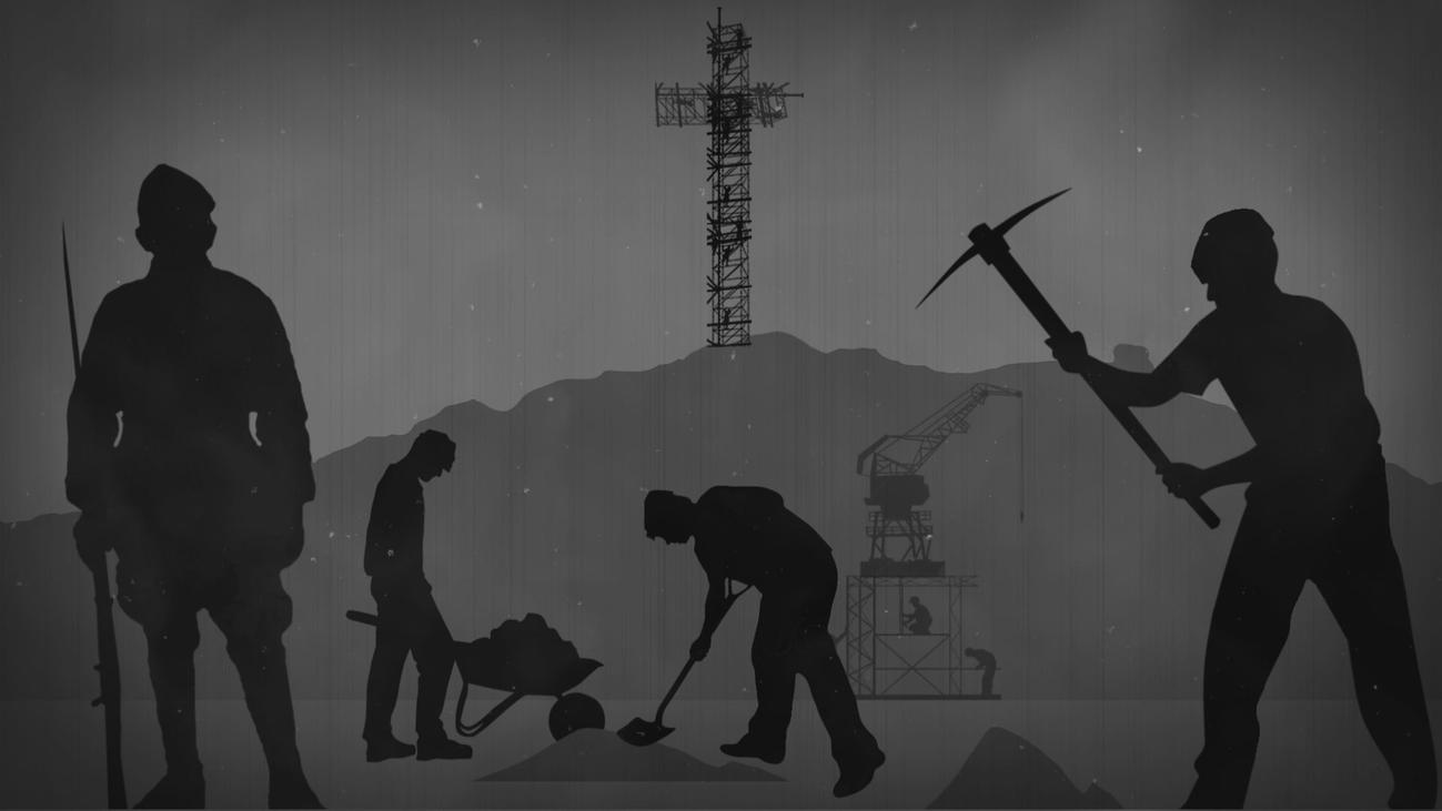 El Valle de los Caídos estaba en la mente de Franco mucho antes de su construcción