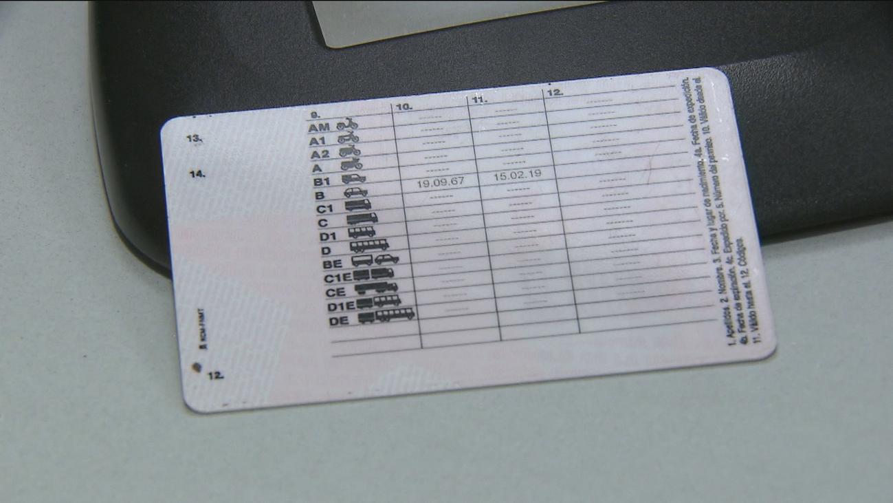 Tráfico avisará por carta de la caducidad del permiso de conducir