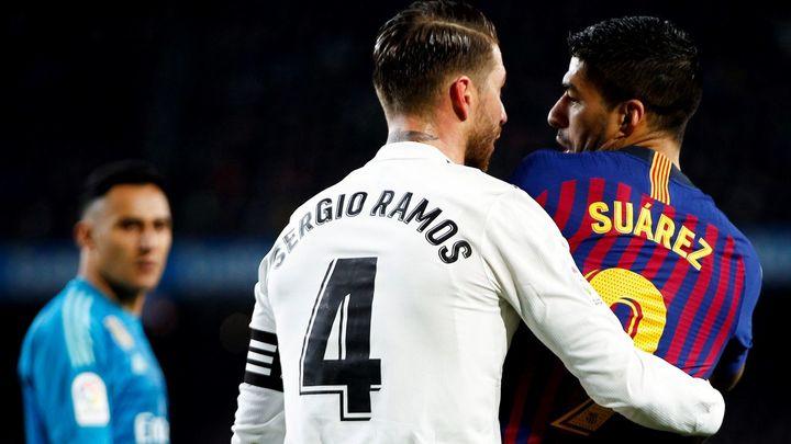 Así vivieron el Clásico las peñas de Barça y Real Madrid