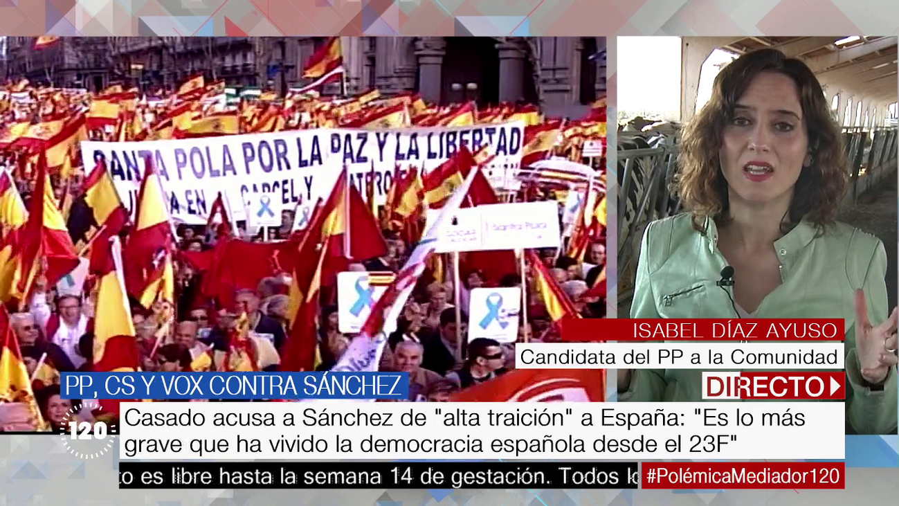 "Isabel Díaz Ayuso afirma que Pedro Sánchez ""humilla a España"""