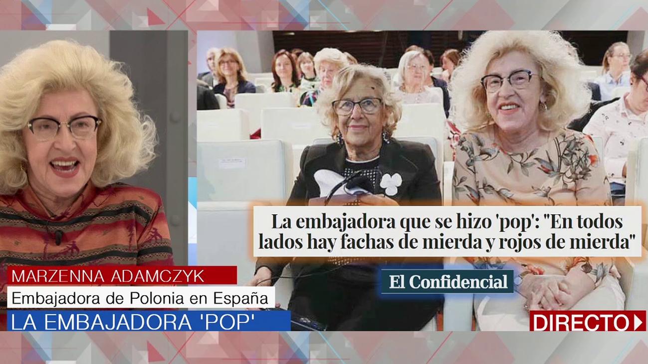 """Marzenna Adamczyk, sobre Carmena: """"Parecemos hermanas"""""""