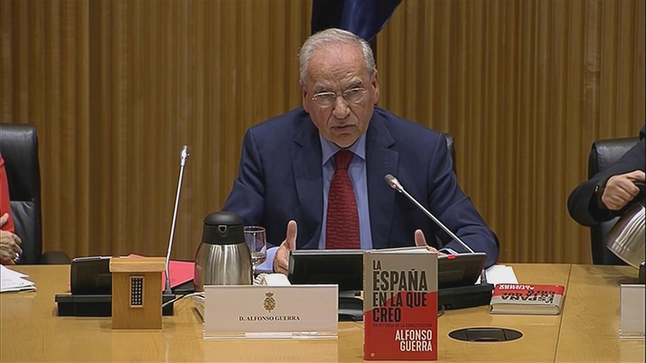"""Guerra carga contra el """"desatino"""" de un relator sobre Cataluña: España no es Yemen, ni Burkina Faso"""